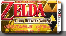 Zelda : A link between worlds – Open-World ?