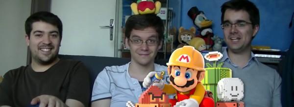 Incroyable Défi ! Épisode 16 – Super Mario Maker – Vos niveaux !
